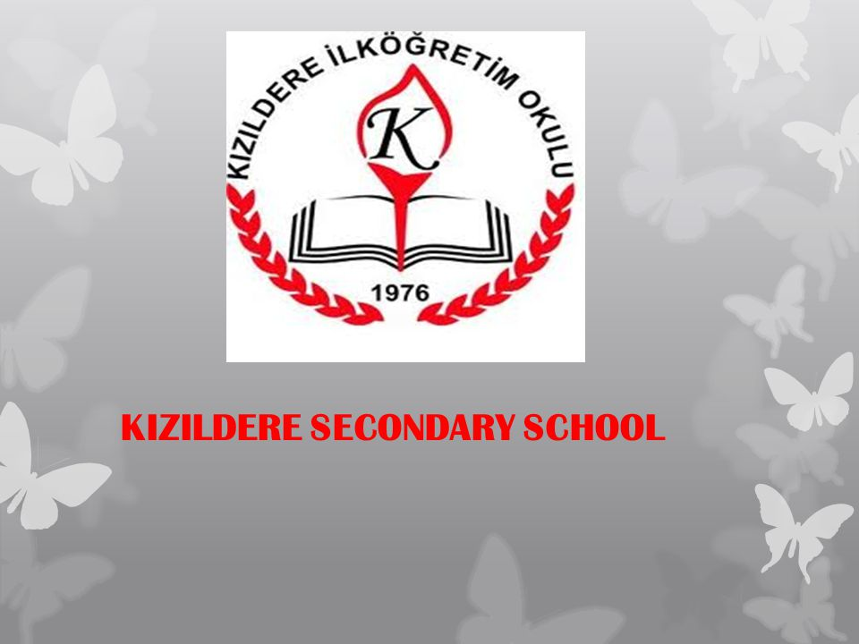 KIZILDERE SECONDARY SCHOOL