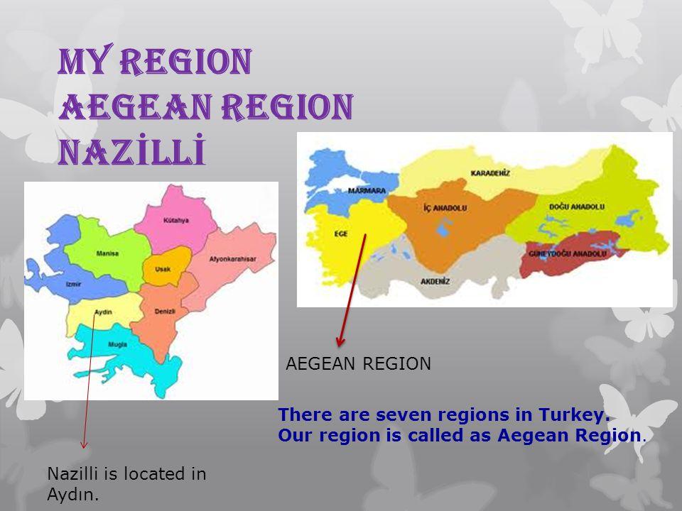 MY REGION AEGEAN REGION NAZİLLİ