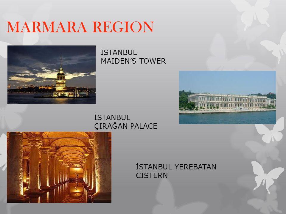 MARMARA REGION İSTANBUL MAIDEN'S TOWER İSTANBUL ÇIRAĞAN PALACE