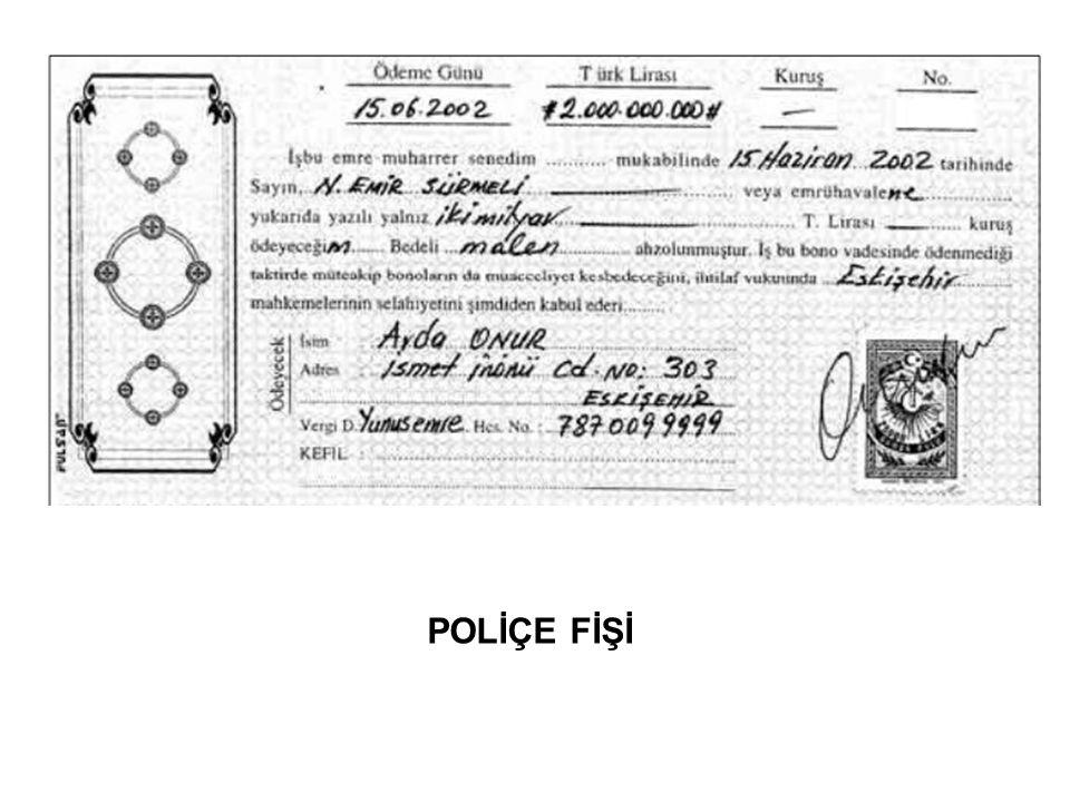 POLİÇE FİŞİ