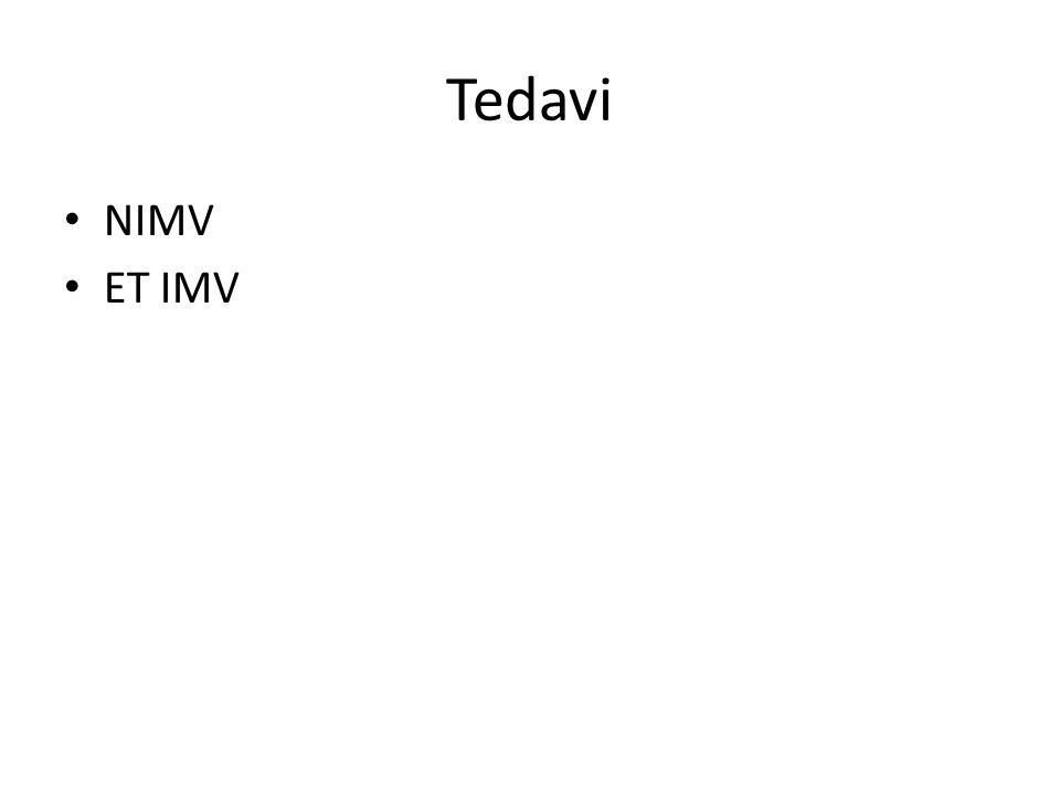 Tedavi NIMV ET IMV