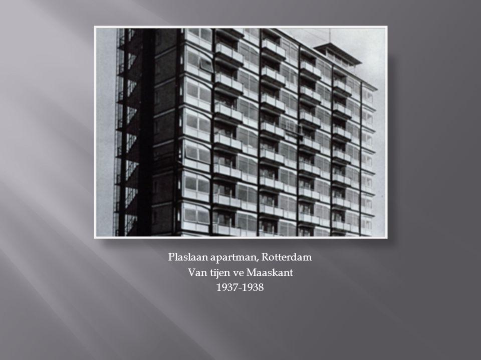 Plaslaan apartman, Rotterdam