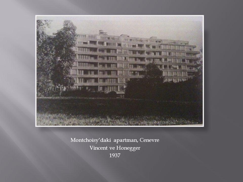 Montchoisy'daki apartman, Cenevre