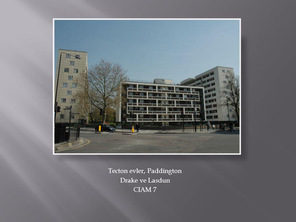 Tecton evler, Paddington