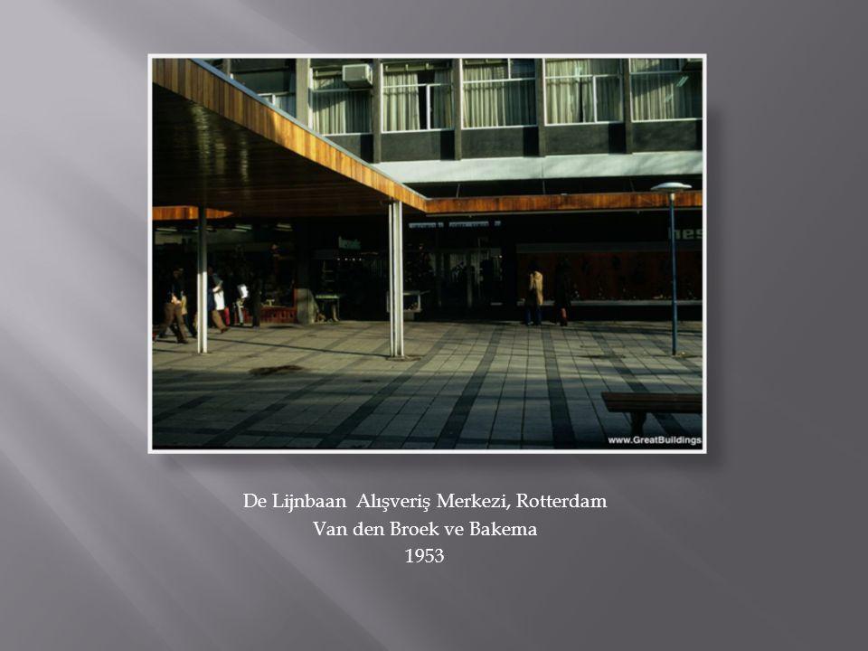De Lijnbaan Alışveriş Merkezi, Rotterdam