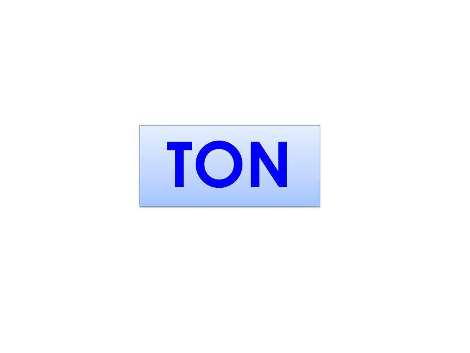 Kütle Ölçüleri TON