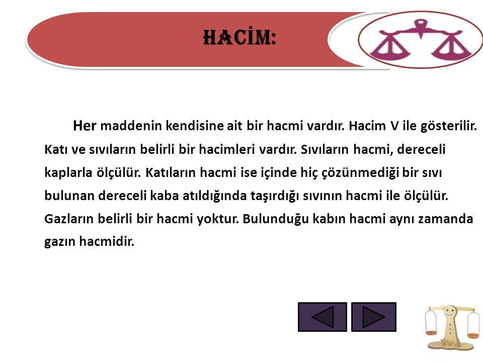 HACİM: