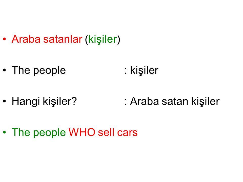 Araba satanlar (kişiler)