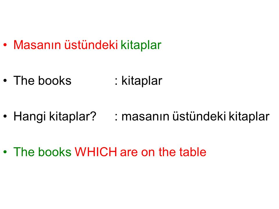 Masanın üstündeki kitaplar