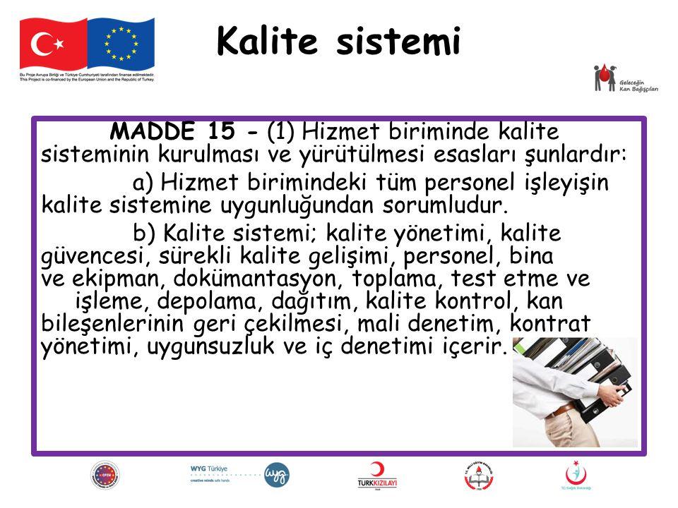 Kalite sistemi