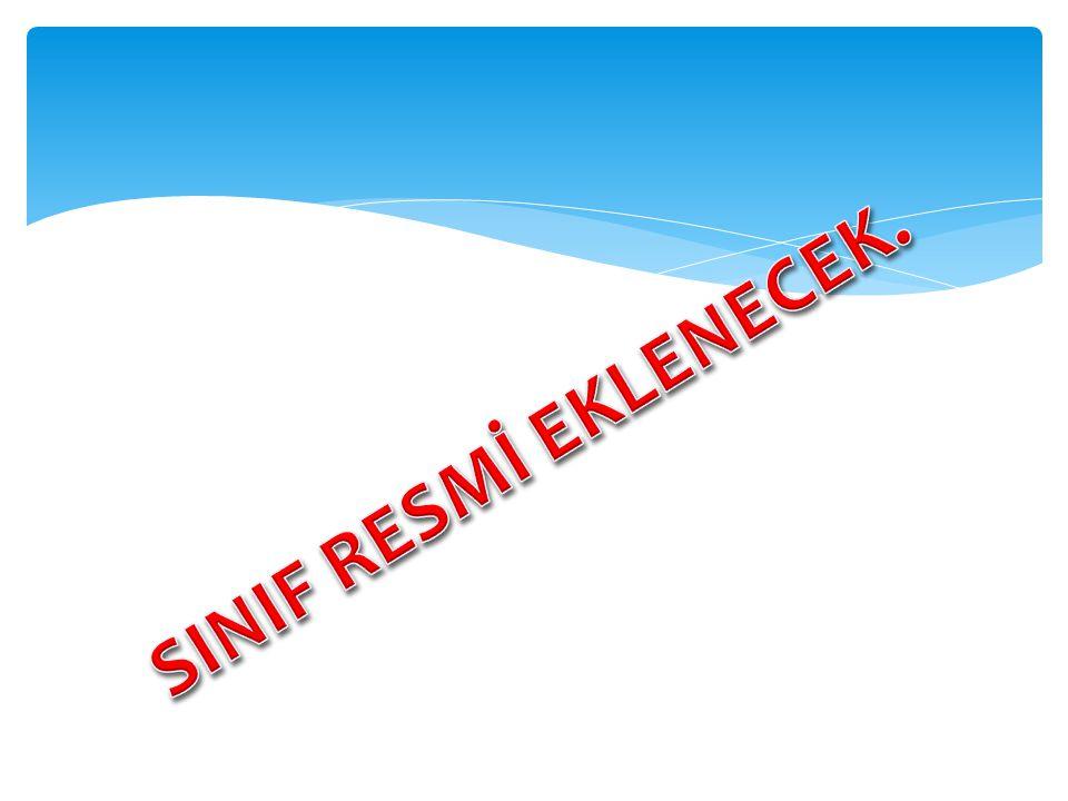 SINIF RESMİ EKLENECEK.