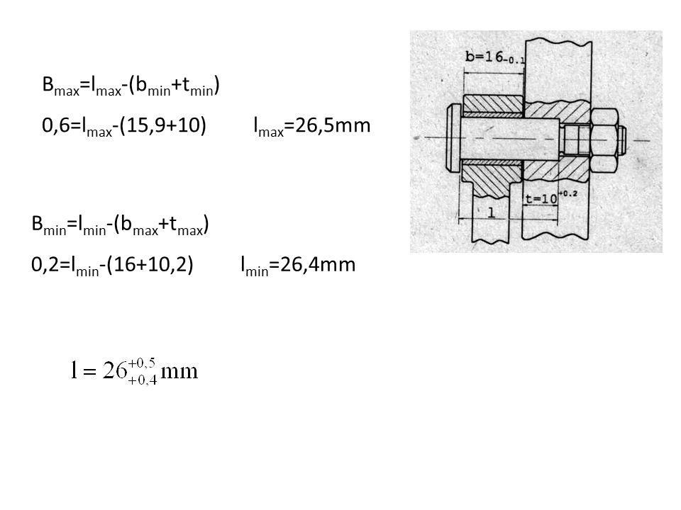 Bmax=lmax-(bmin+tmin)