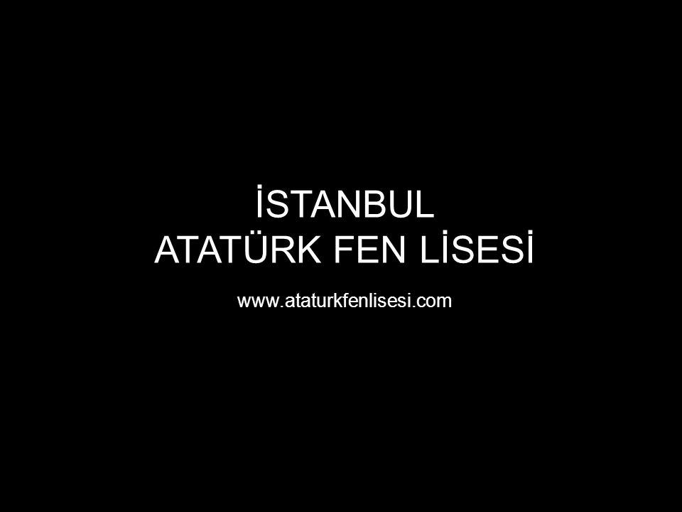İSTANBUL ATATÜRK FEN LİSESİ