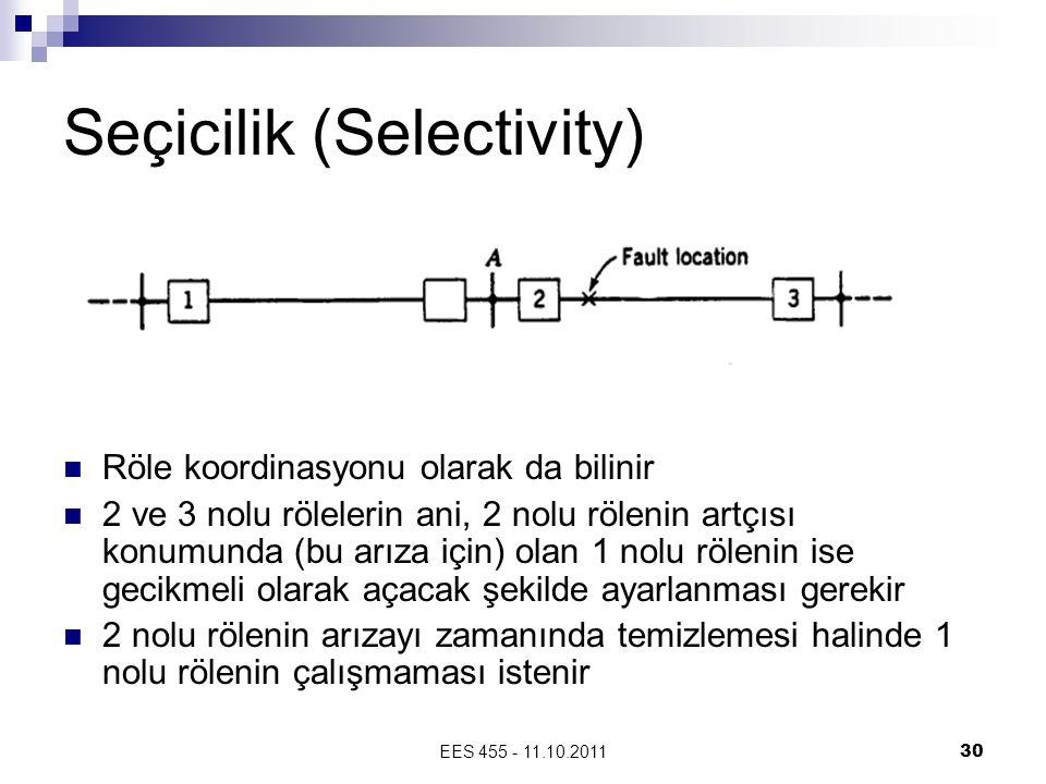 Seçicilik (Selectivity)