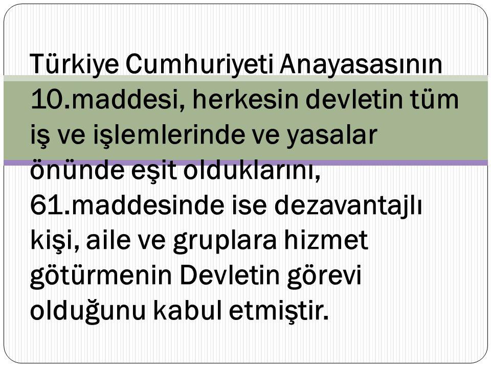 Türkiye Cumhuriyeti Anayasasının 10