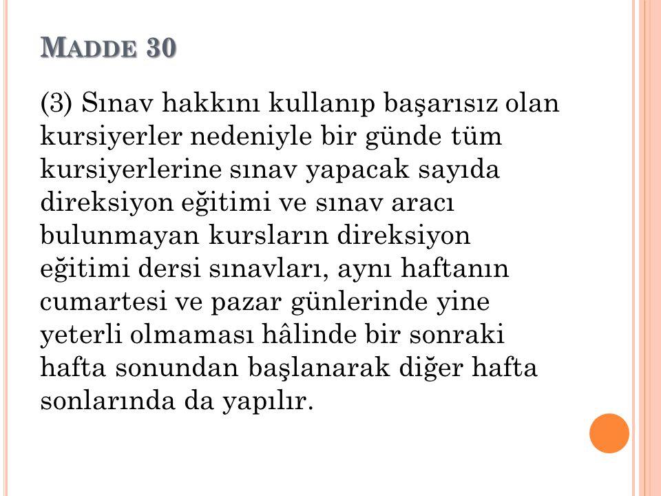 Madde 30