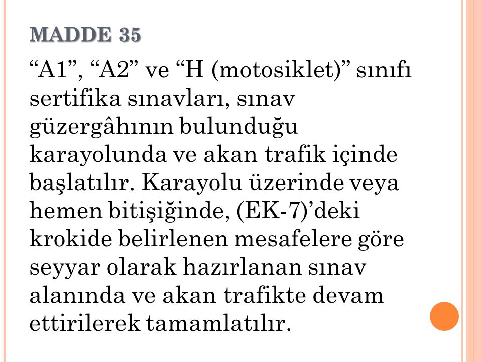 MADDE 35