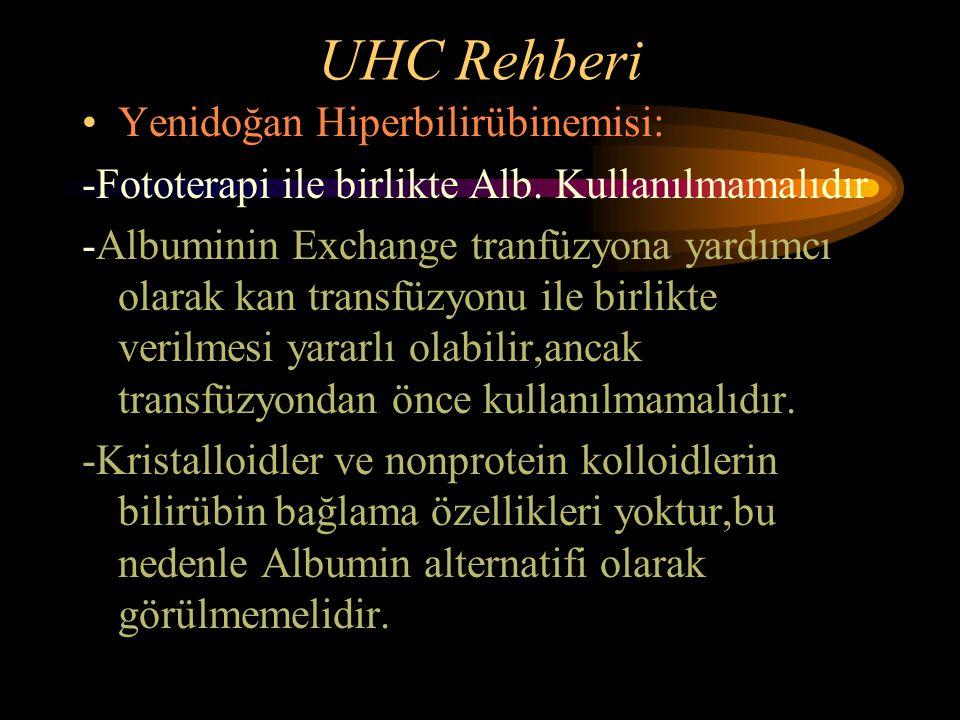 UHC Rehberi Yenidoğan Hiperbilirübinemisi: