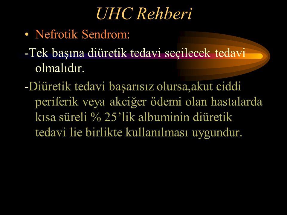 UHC Rehberi Nefrotik Sendrom: