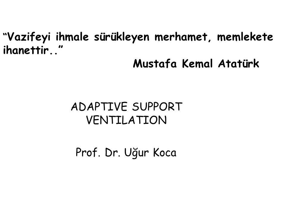ADAPTIVE SUPPORT VENTILATION
