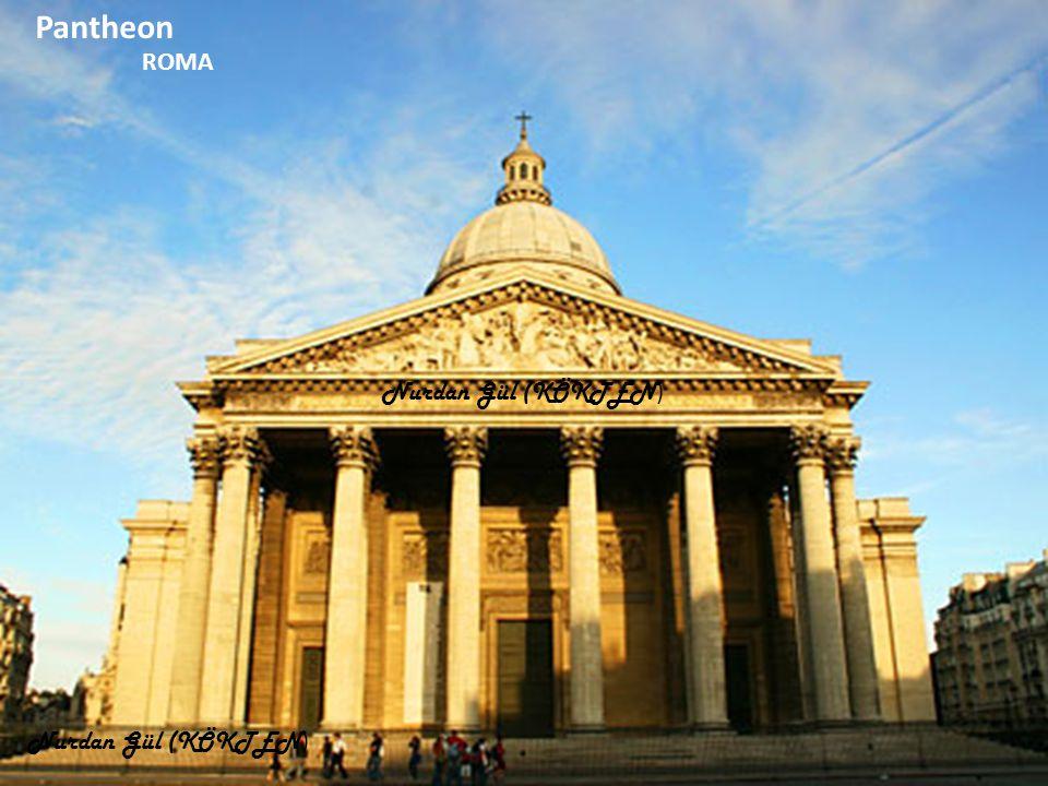 Pantheon Trevi Çeşmesi (Aşk Çeşmesi) ROMA Nurdan Gül (KÖKTEN)