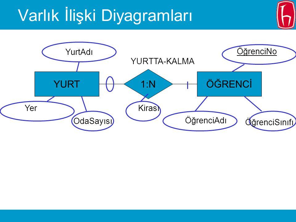 Varlık İlişki Diyagramları