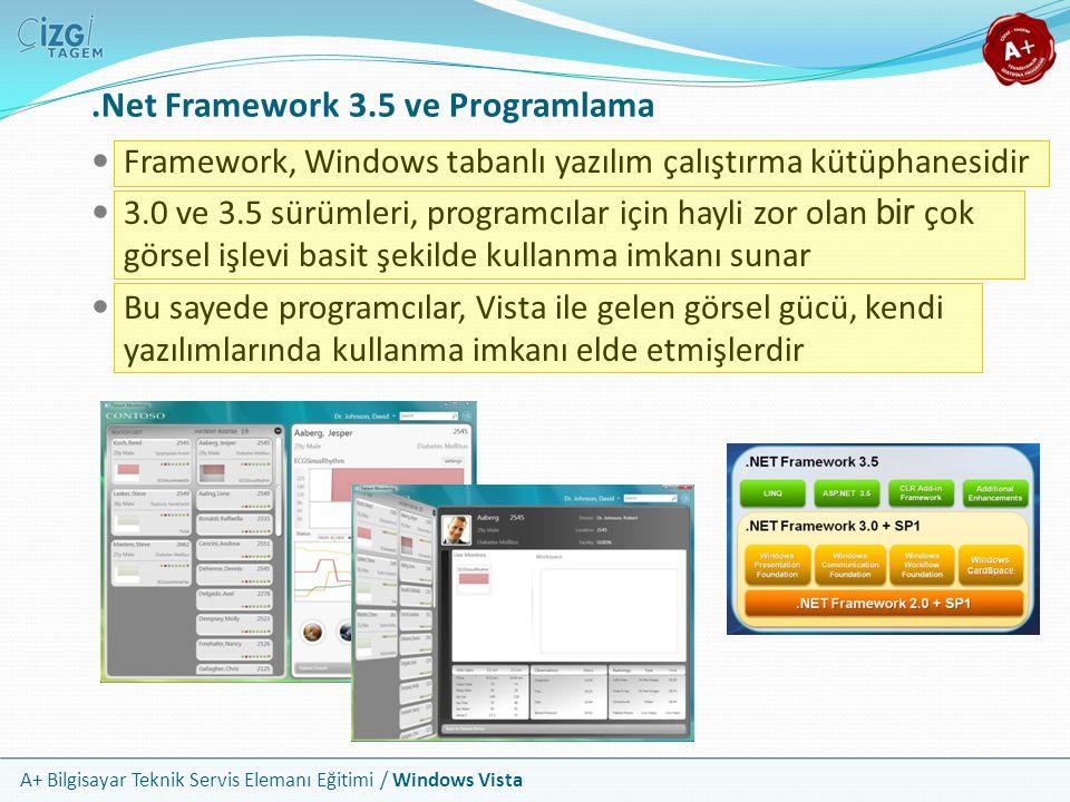 .Net Framework 3.5 ve Programlama