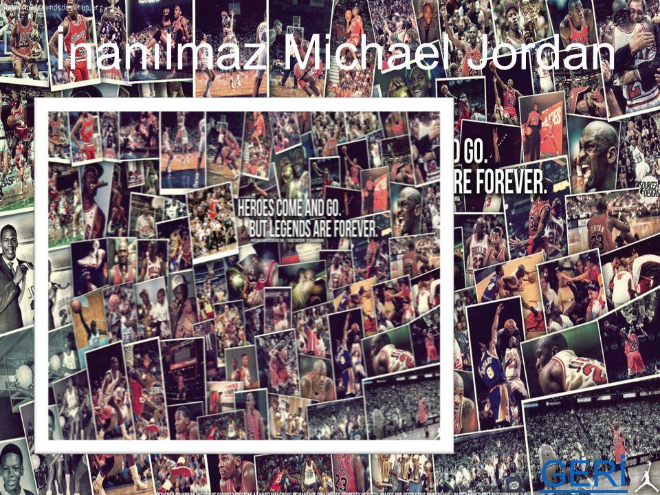 İnanılmaz Michael Jordan
