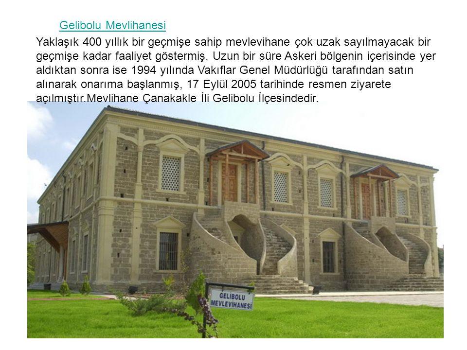 Gelibolu Mevlihanesi