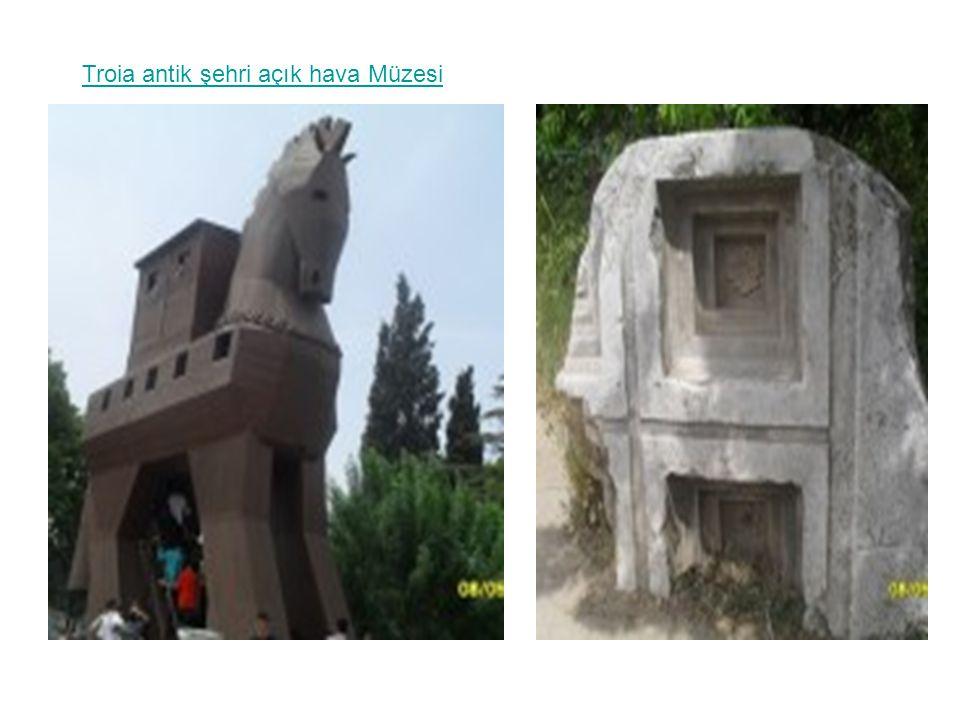 Troia antik şehri açık hava Müzesi