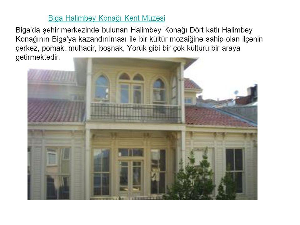 Biga Halimbey Konağı Kent Müzesi