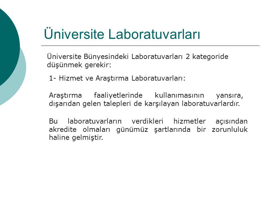 Üniversite Laboratuvarları
