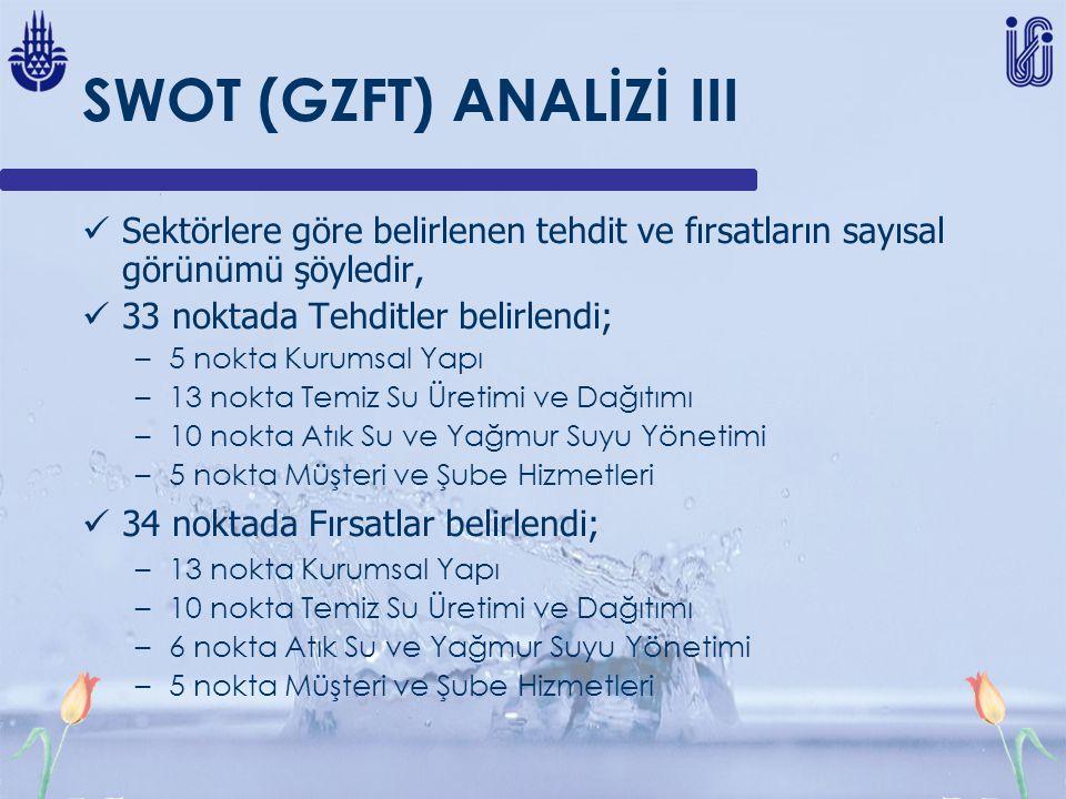 SWOT (GZFT) ANALİZİ III