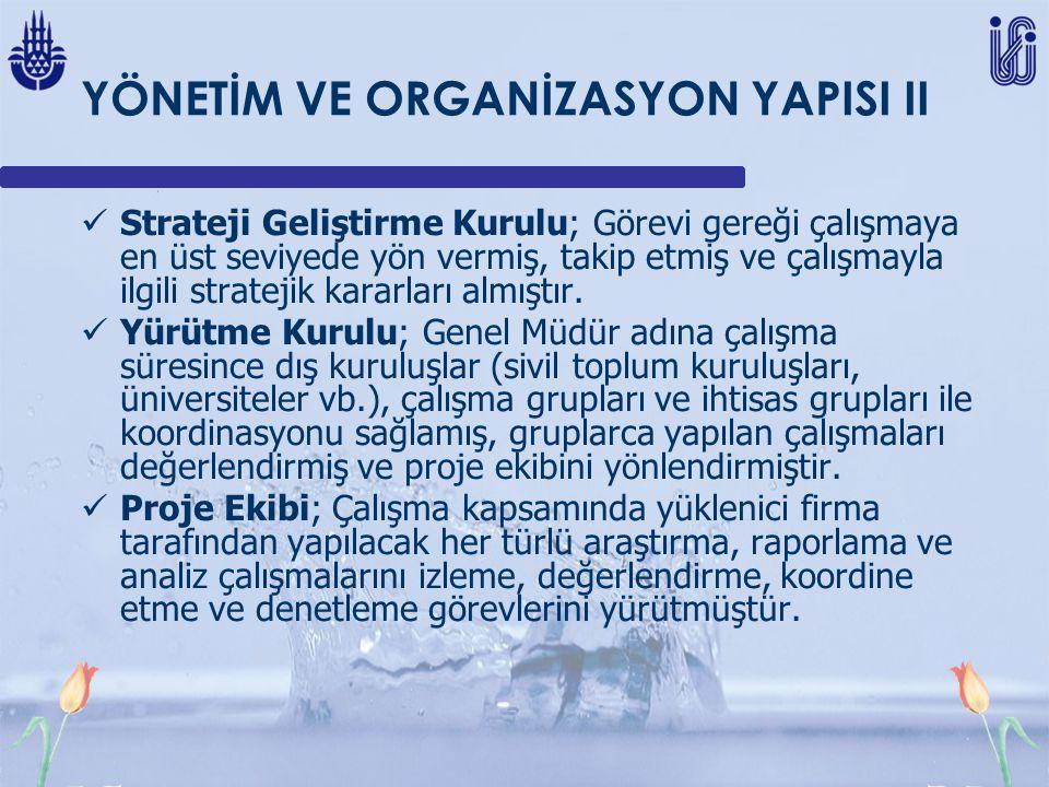 YÖNETİM VE ORGANİZASYON YAPISI II