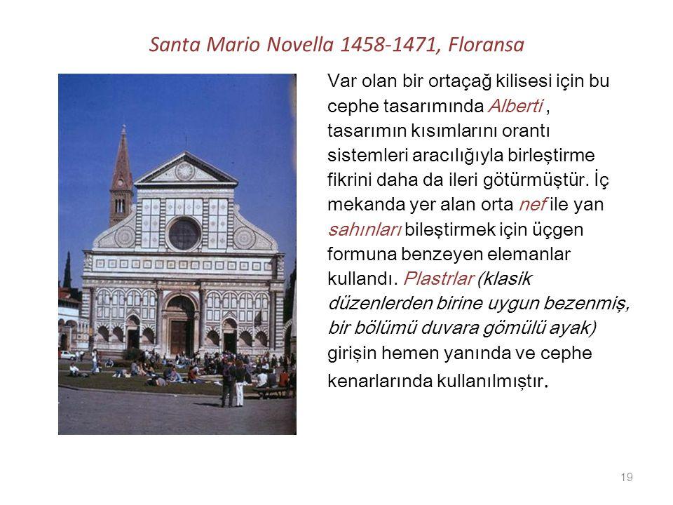 Santa Mario Novella 1458-1471, Floransa