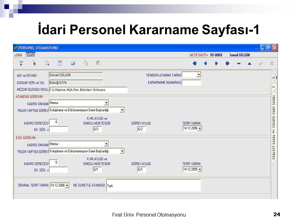 İdari Personel Kararname Sayfası-1