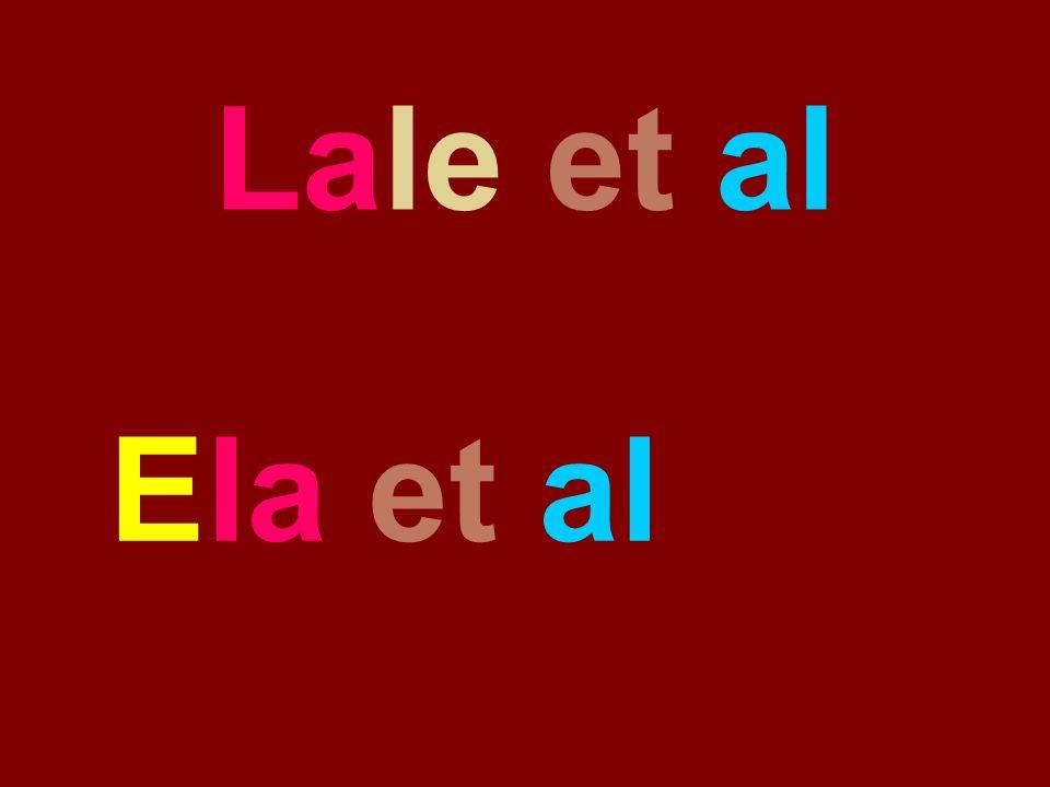 Lale et al Ela et al