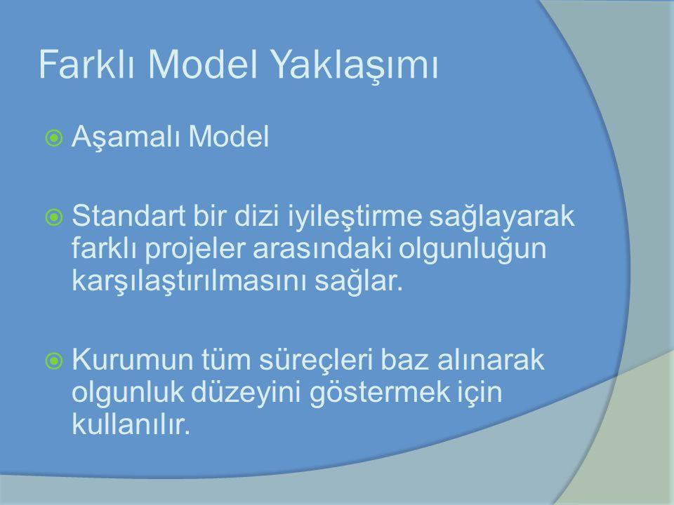 Farklı Model Yaklaşımı