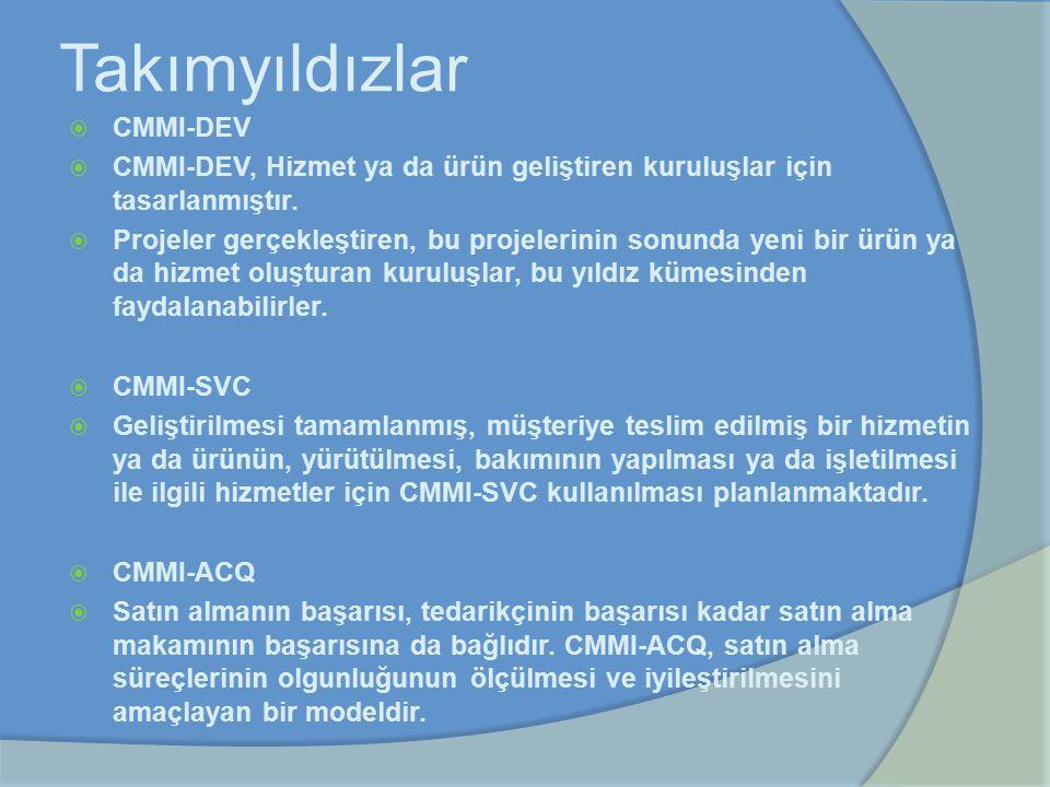 Takımyıldızlar CMMI-DEV