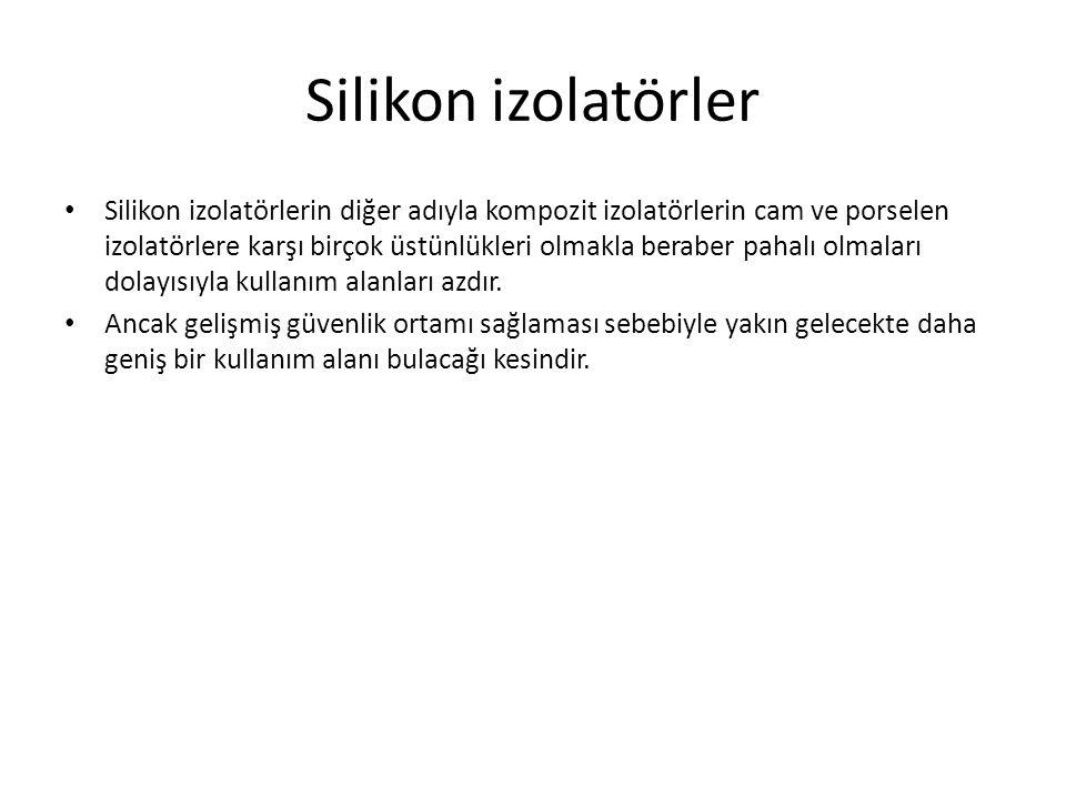 Silikon izolatörler