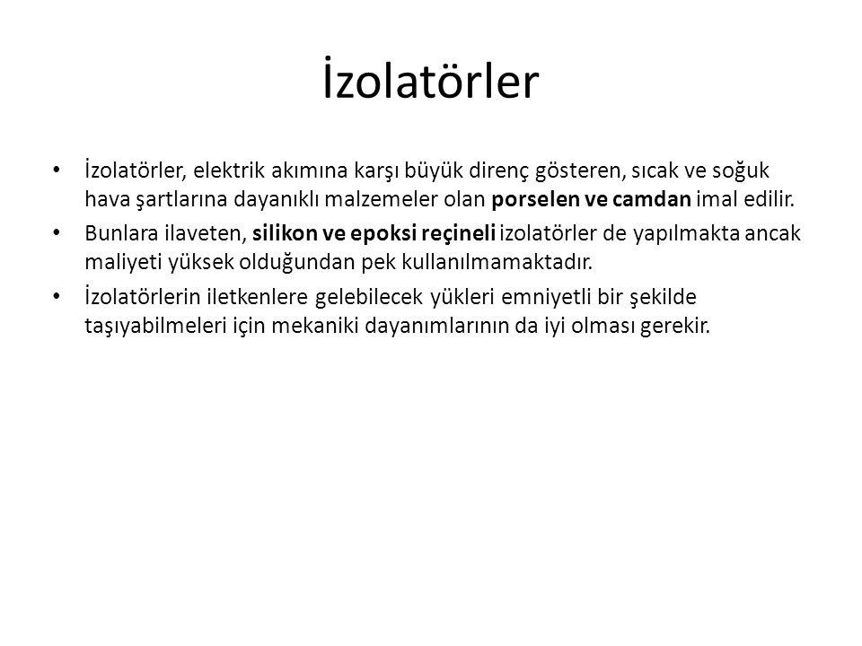 İzolatörler