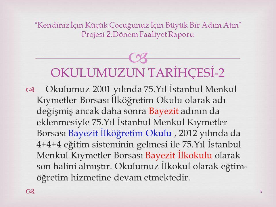 OKULUMUZUN TARİHÇESİ-2