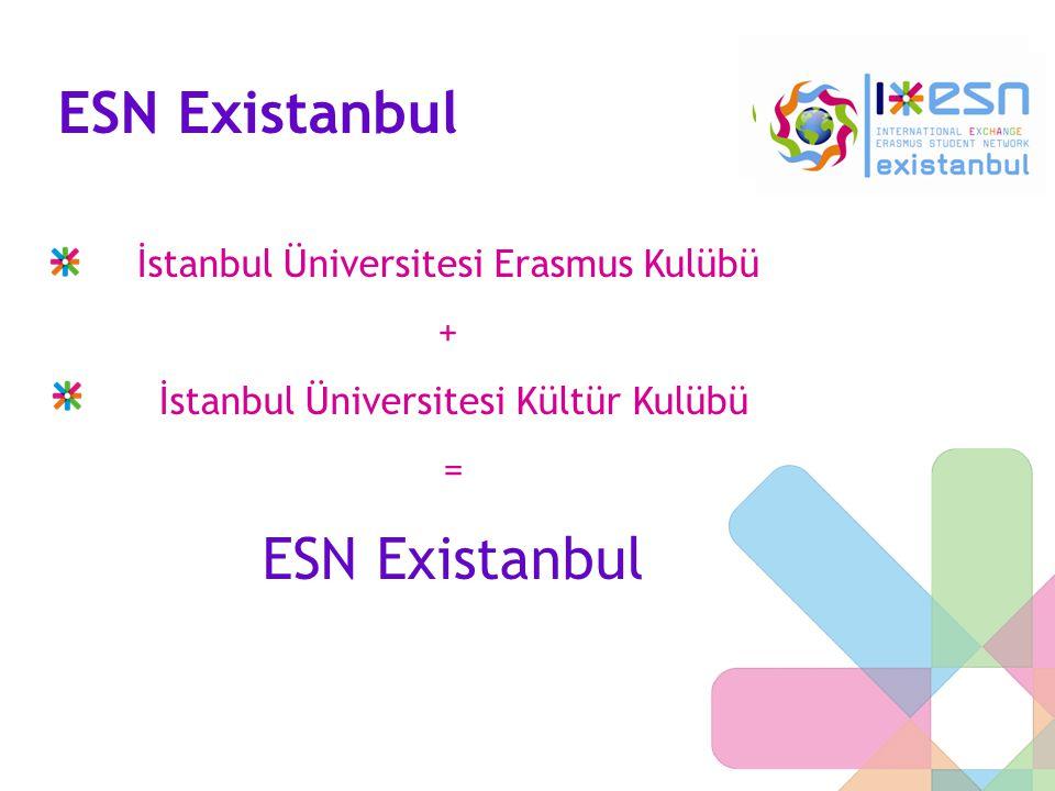 ESN Existanbul ESN Existanbul İstanbul Üniversitesi Erasmus Kulübü +
