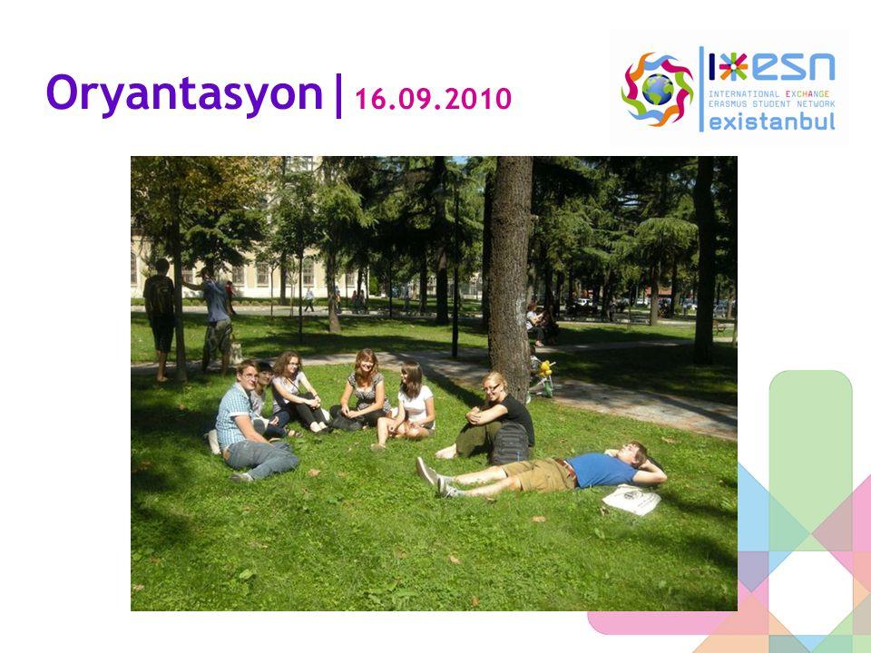 Oryantasyon|16.09.2010