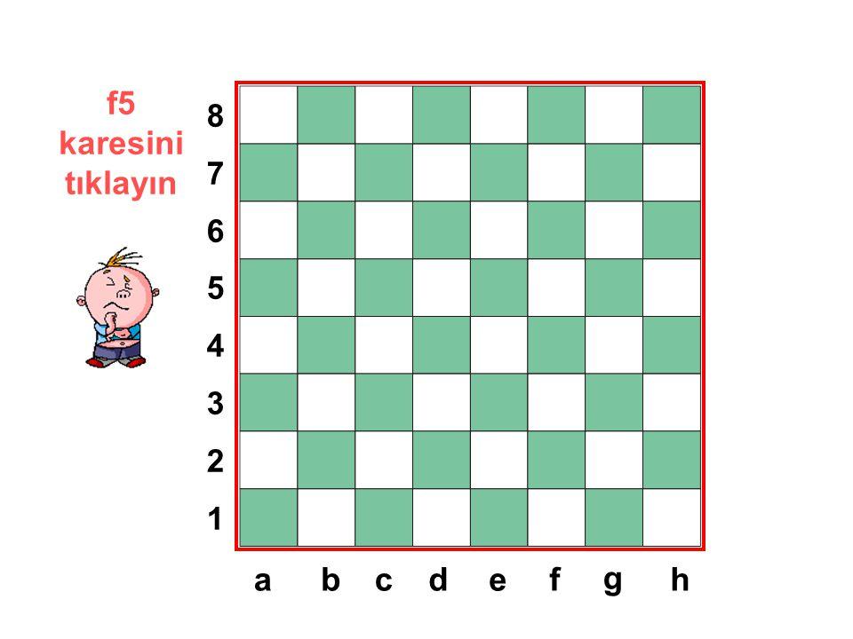 f5 karesini tıklayın 8 7 6 5 4 3 2 1 a b c d e f g h