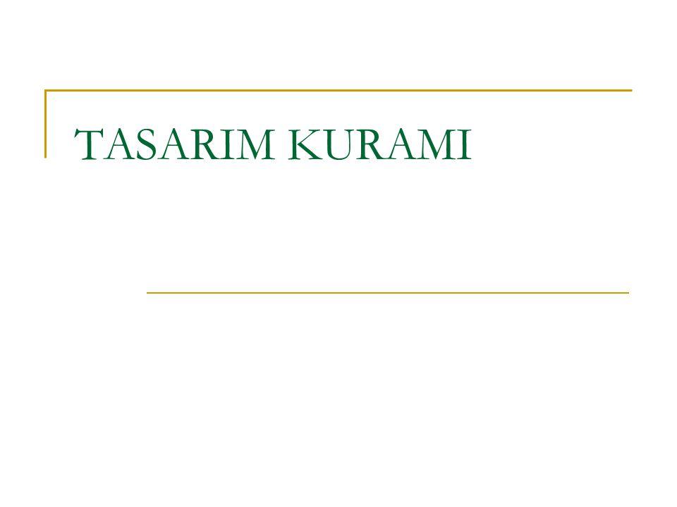 TASARIM KURAMI