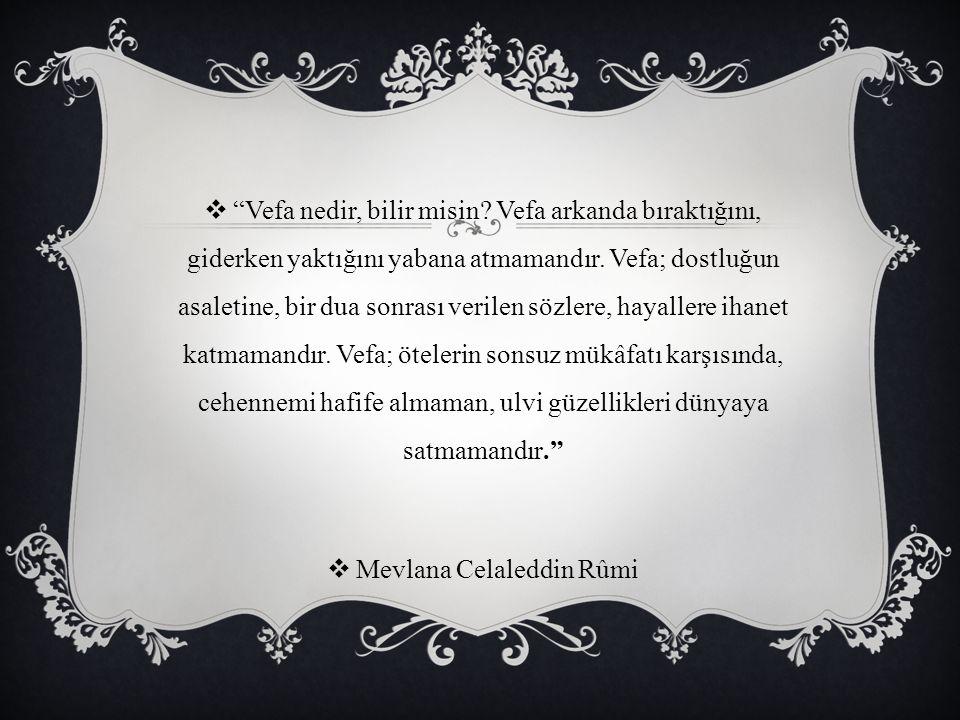 Mevlana Celaleddin Rûmi