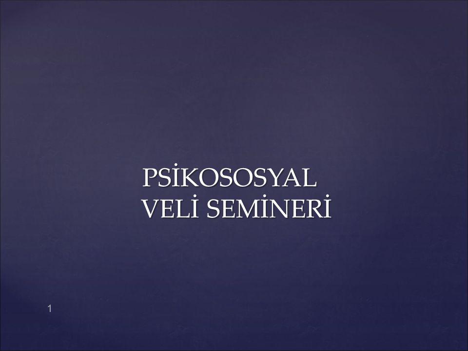 PSİKOSOSYAL VELİ SEMİNERİ