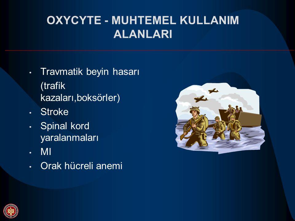 OXYCYTE - MUHTEMEL KULLANIM ALANLARI