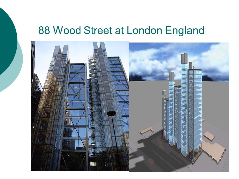 88 Wood Street at London England